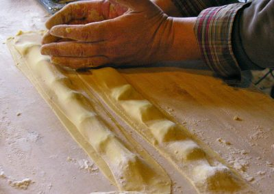 Ravioli – finishing touches